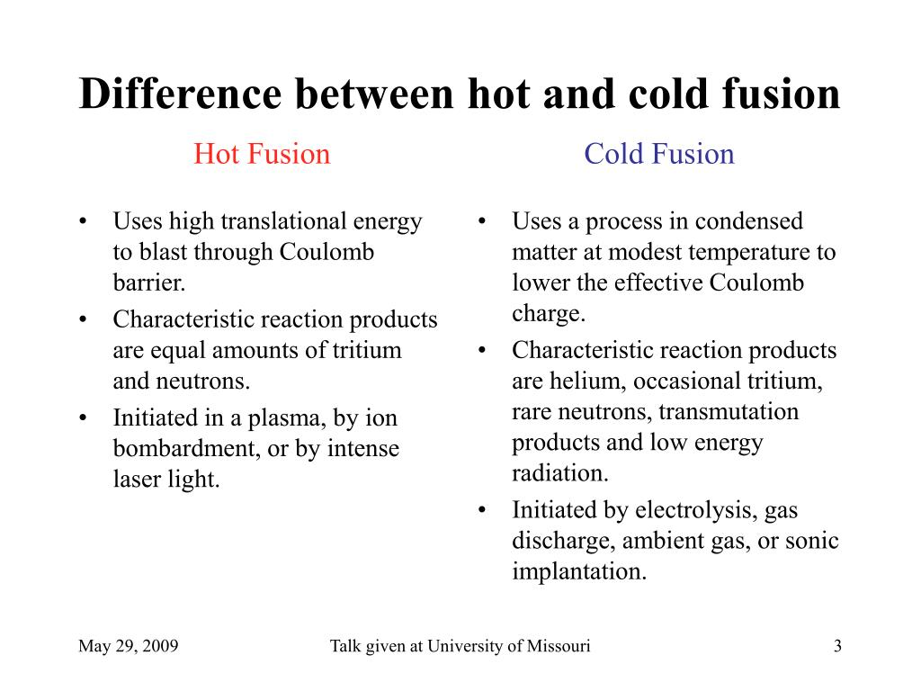 Uses high translational energy to blast through Coulomb barrier.