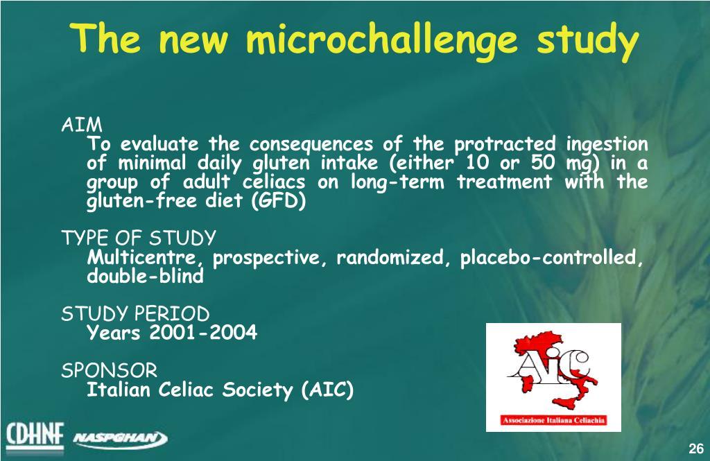 The new microchallenge study