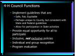 4 h council functions43