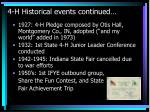 4 h historical events continued14
