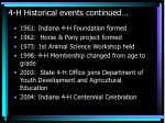 4 h historical events continued15