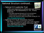 national structure continued26
