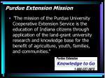 purdue extension mission
