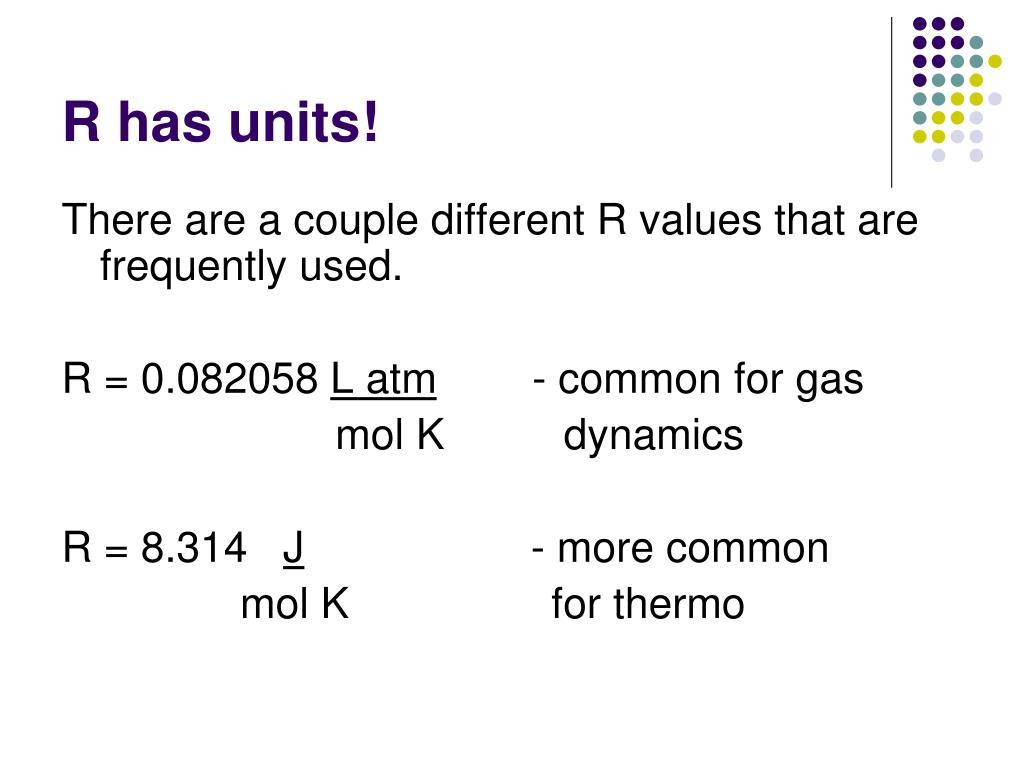 R has units!