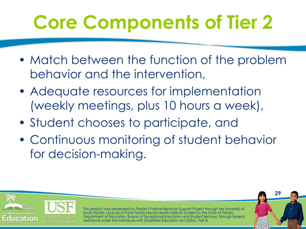 Core Components of Tier 2