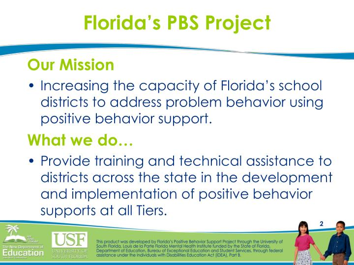 Florida s pbs project