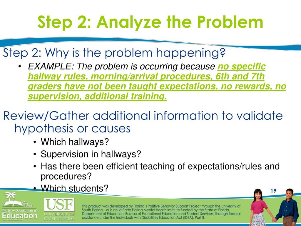 Step 2: Analyze the Problem