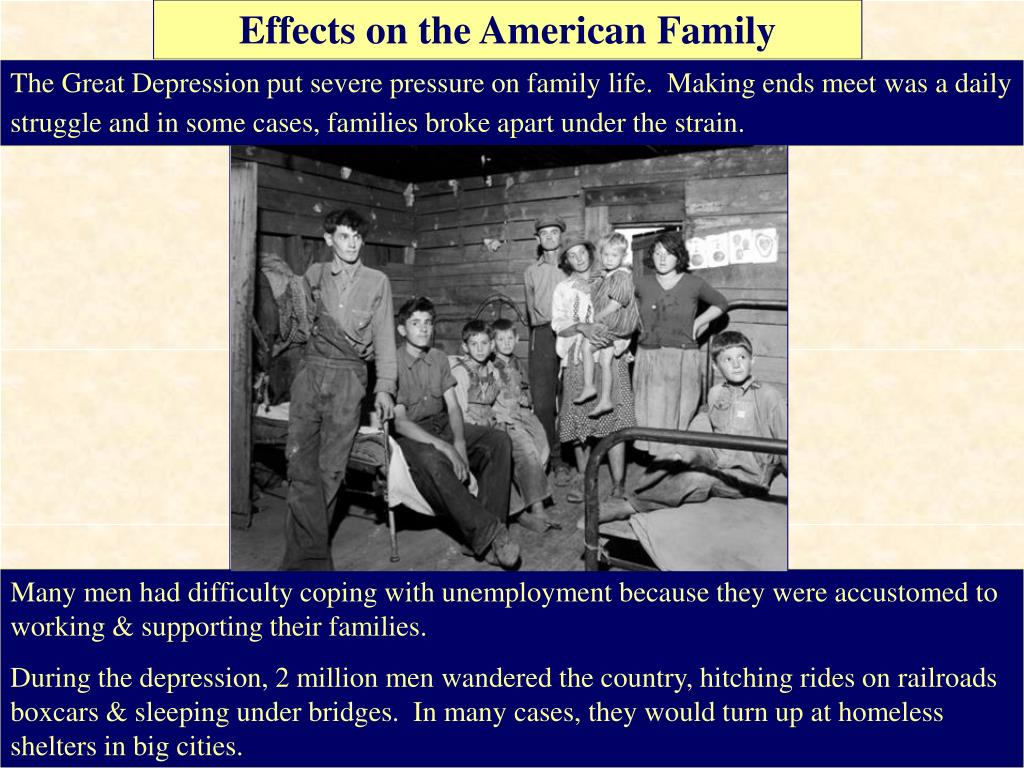 the great depression was a severe The timing and severity of the great depression varied substantially across countries the depression was particularly long and severe in the united states and europe it was milder in japan and much of latin america.