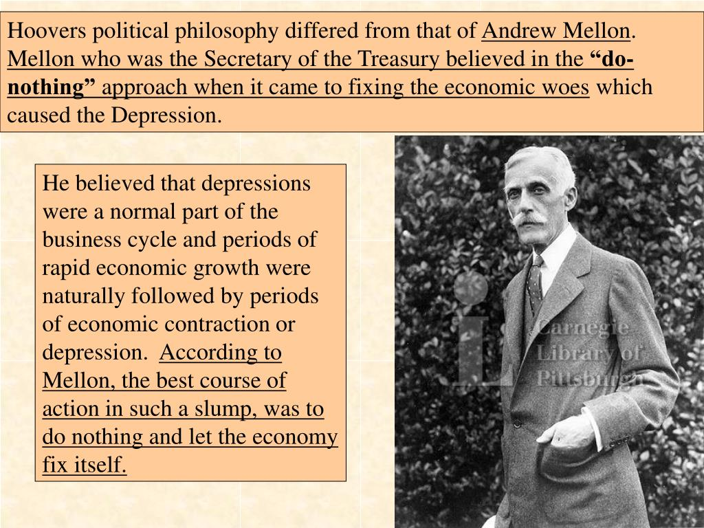 an analysis of the presidents actions doing the great depression in 1929 Pro-labor policies pushed by president herbert hoover after the stock market crash of 1929 stance helped cause great depression great depression is.