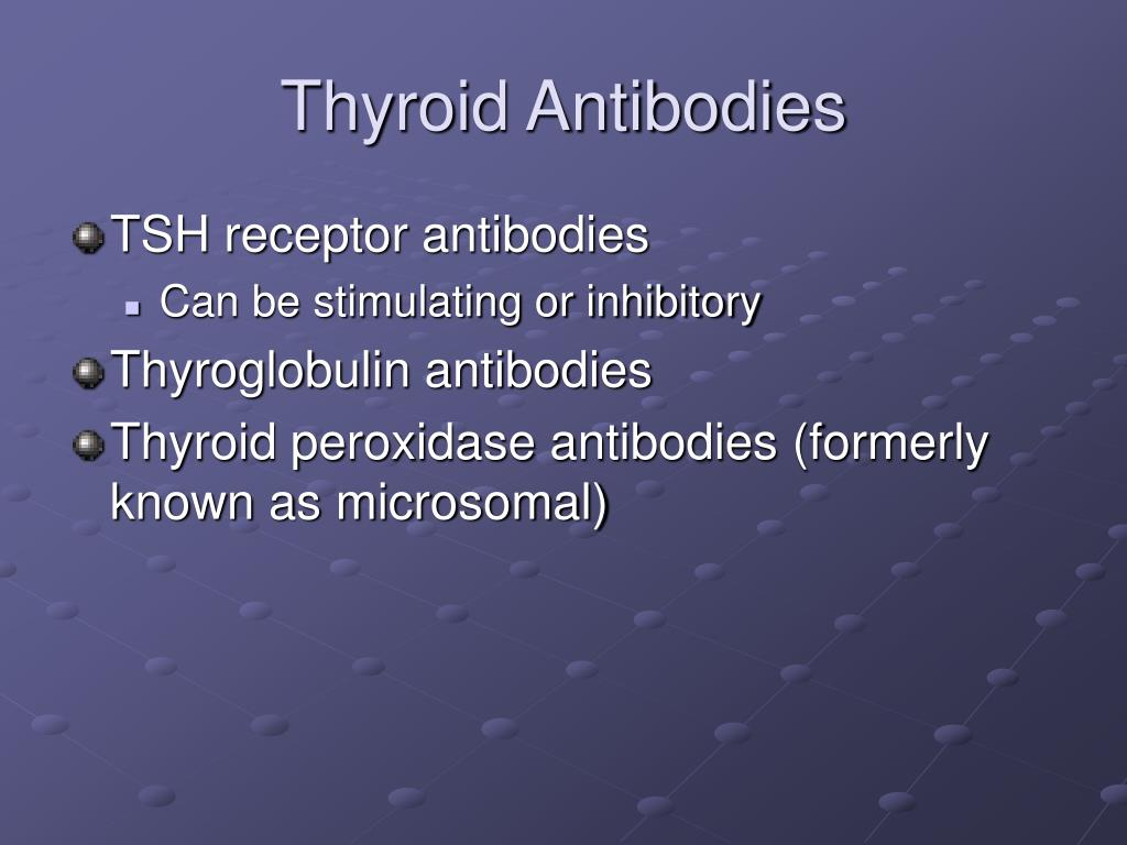 Thyroid Antibodies