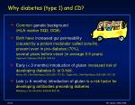 why diabetes type 1 and cd