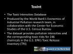 toxint