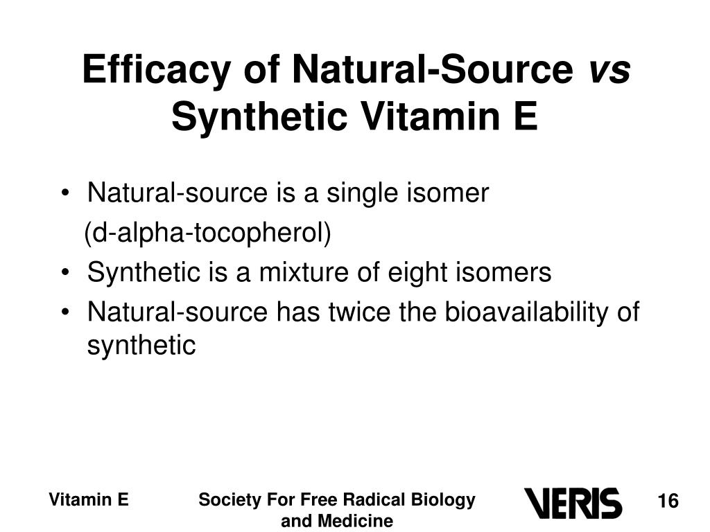 Efficacy of Natural-Source