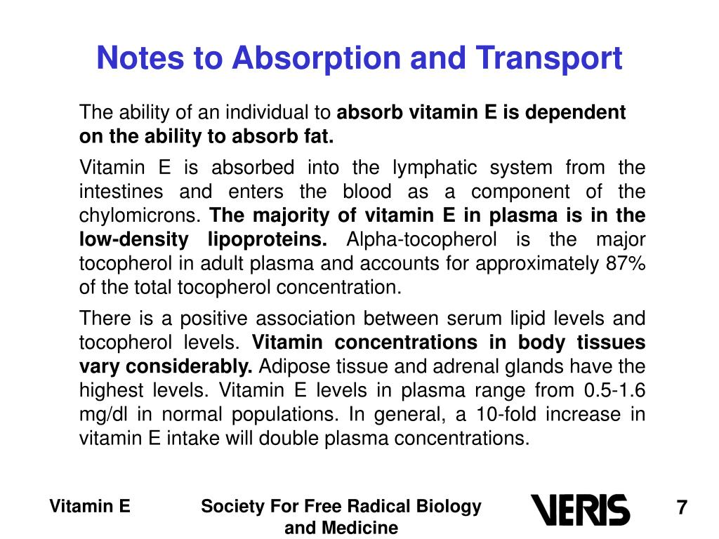 Notes to Absorption and Transport