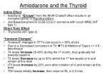 amiodarone and the thyroid
