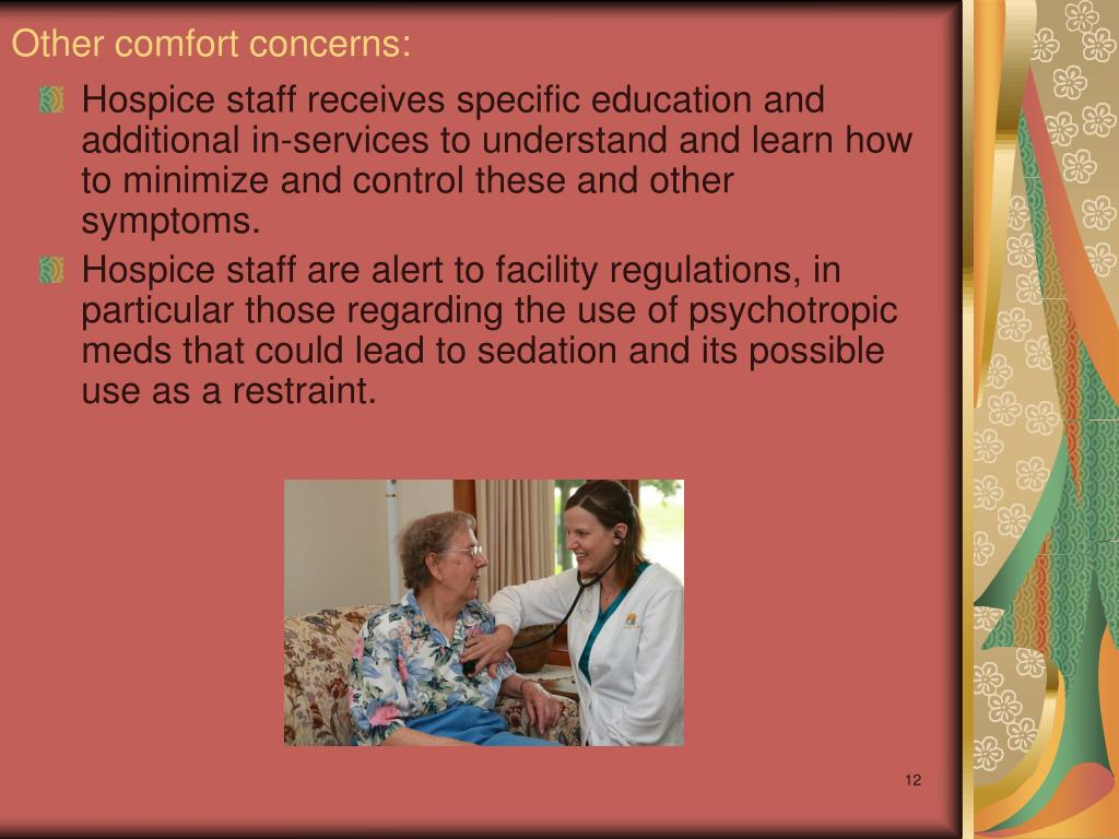 Other comfort concerns: