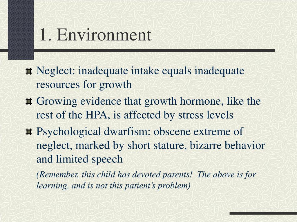 1. Environment