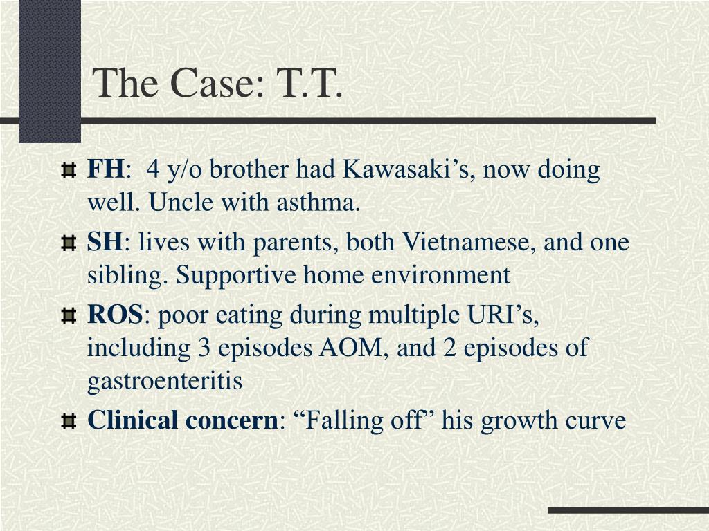 The Case: T.T.