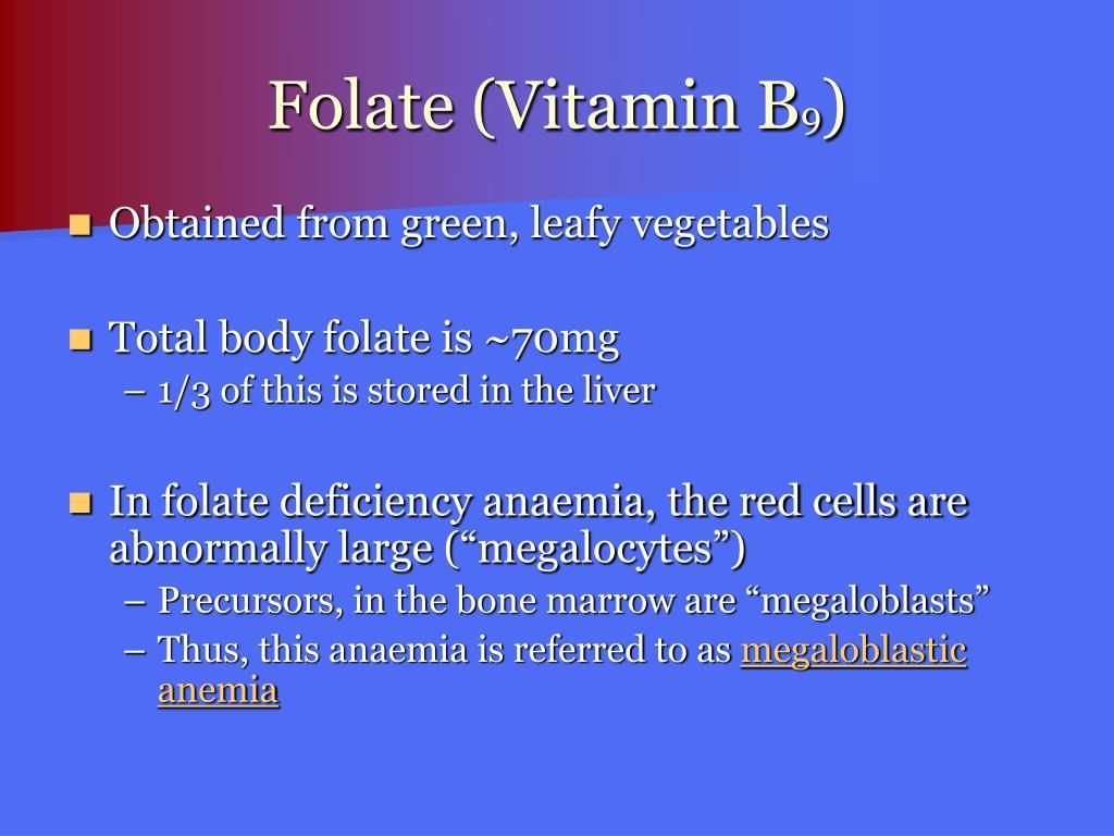 Folate (Vitamin B