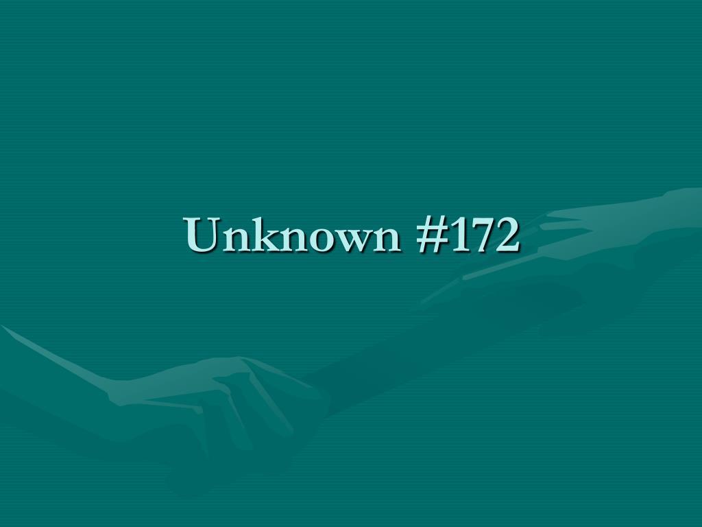 Unknown #172