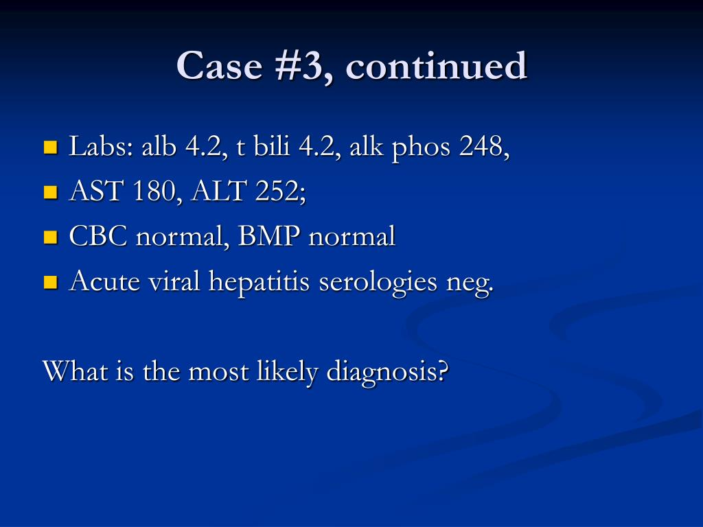 Case #3, continued