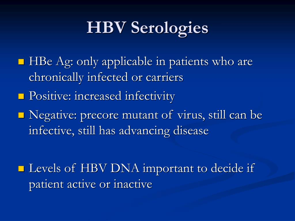 HBV Serologies