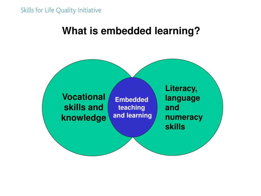 Literacy, language and numeracy skills