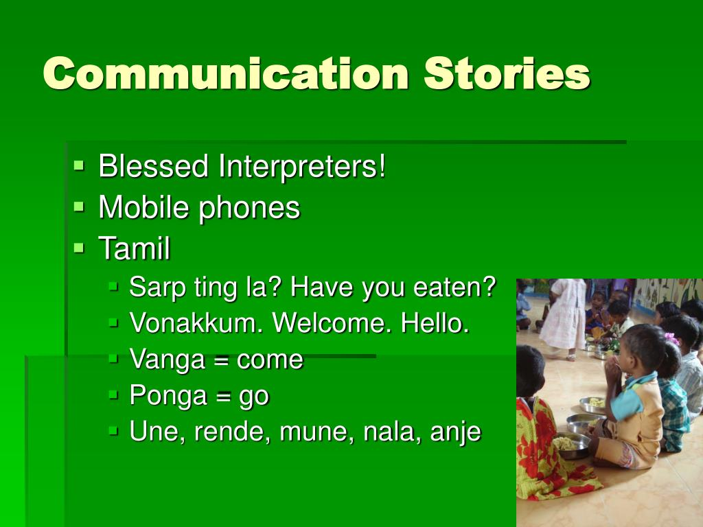 Communication Stories