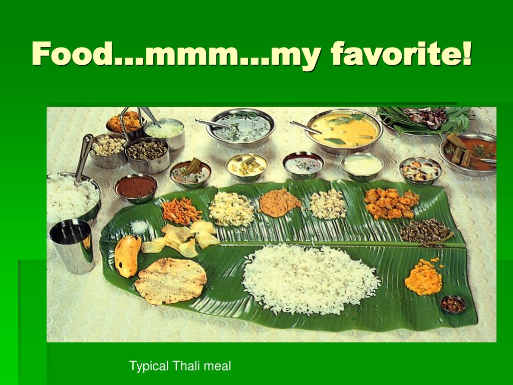 Food…mmm…my favorite!