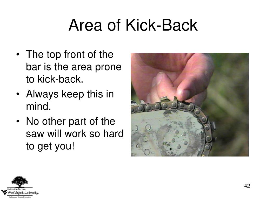 Area of Kick-Back