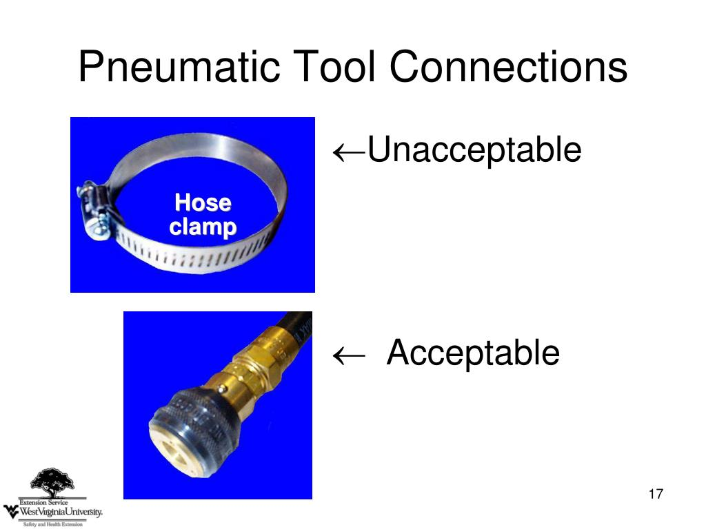 Pneumatic Tool Connections