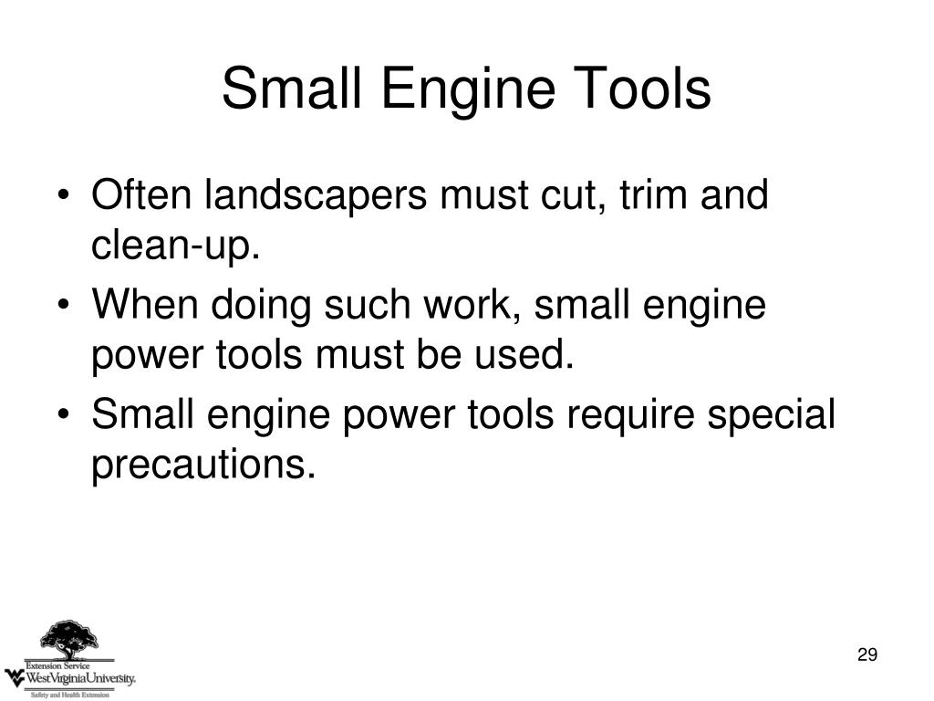 Small Engine Tools