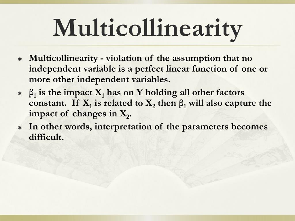 Ppt Multicollinearity Powerpoint Presentation Id 678130