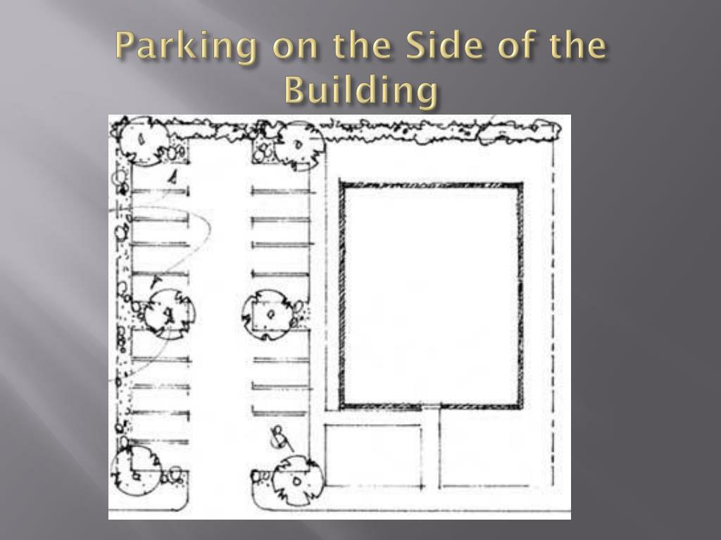 Parking on the Side of the Building