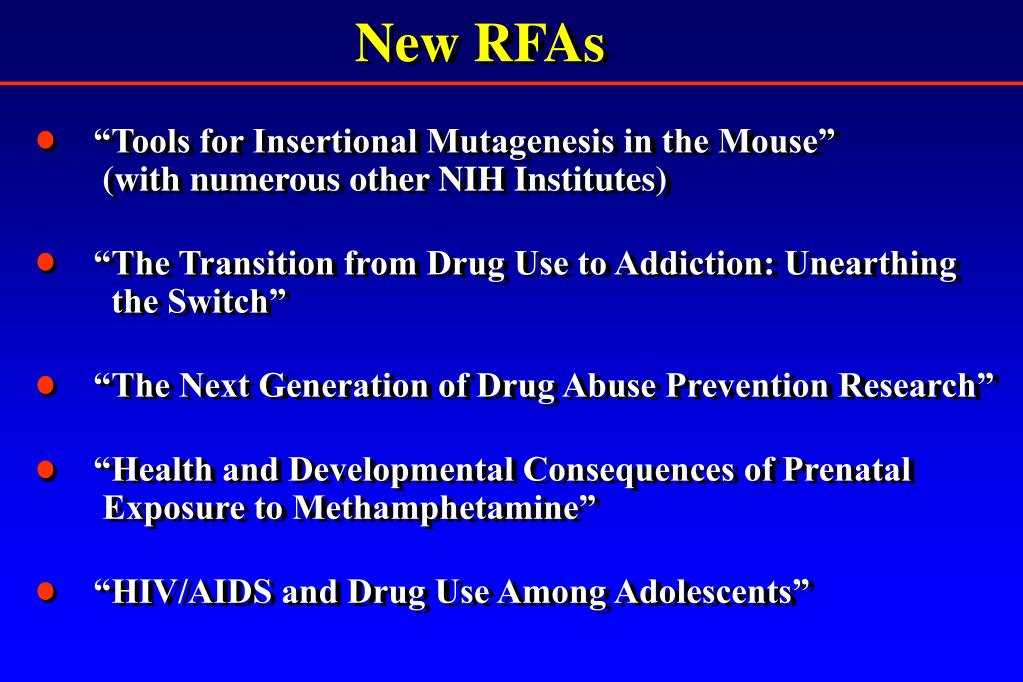 New RFAs