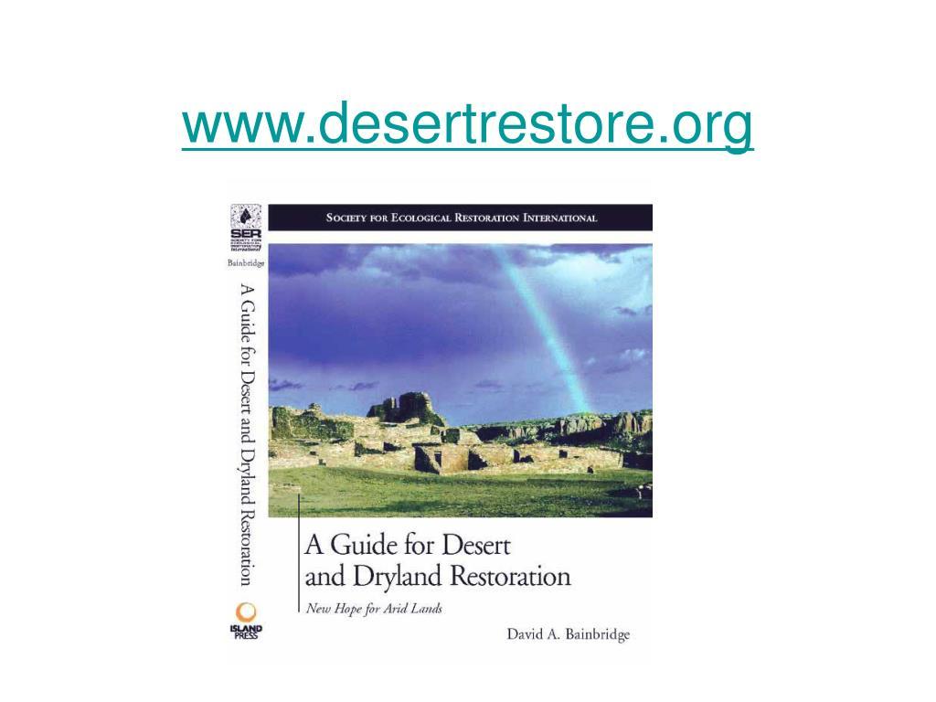 www.desertrestore.org
