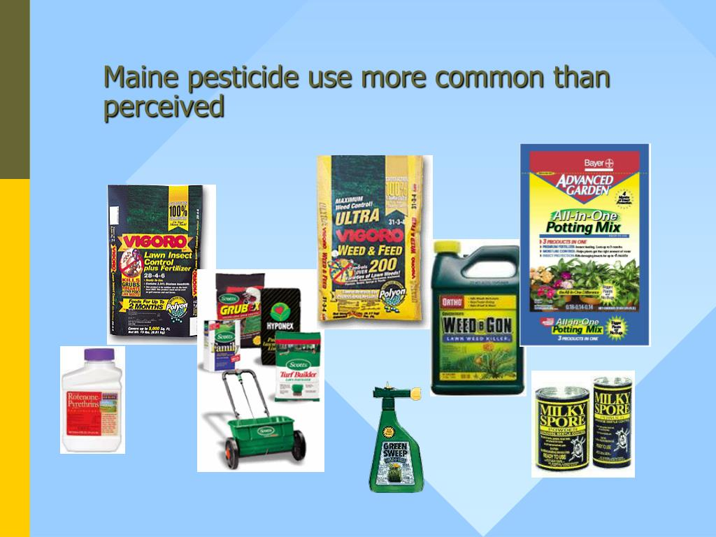 Maine pesticide use more common than perceived
