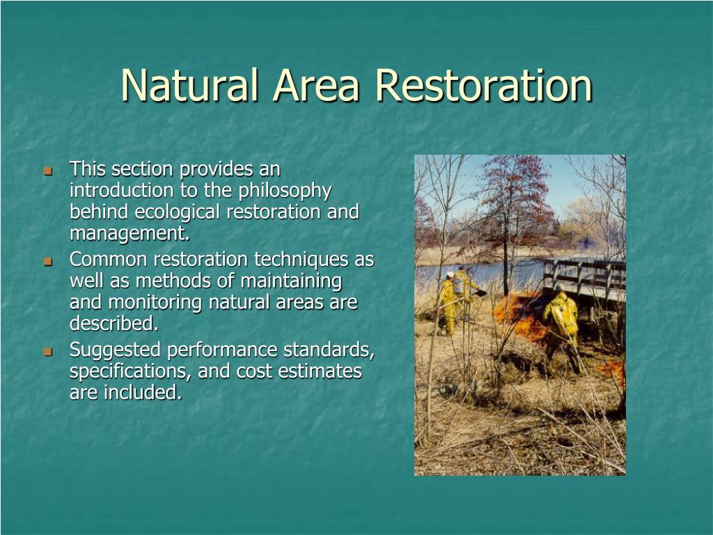 Natural Area Restoration