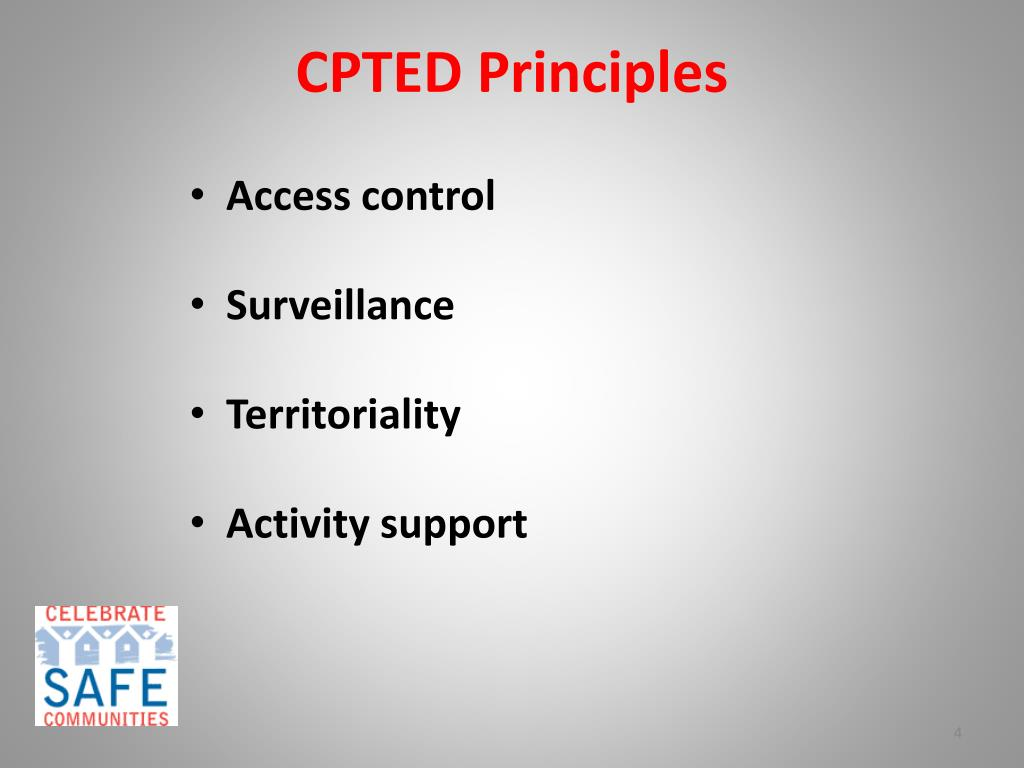 CPTED Principles