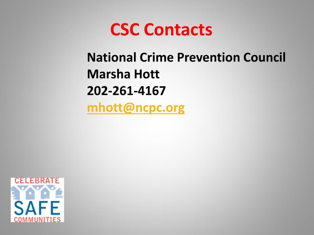 CSC Contacts