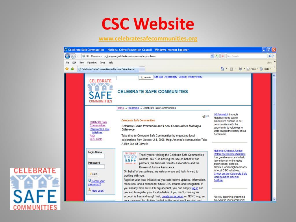 CSC Website