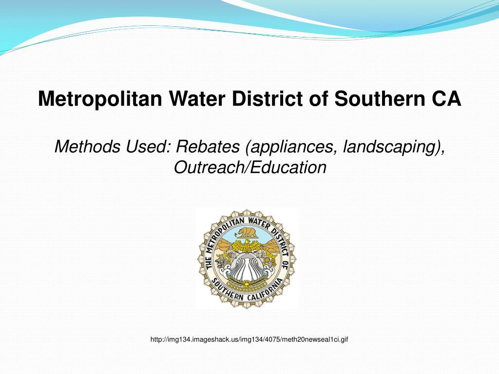Metropolitan Water District of Southern CA