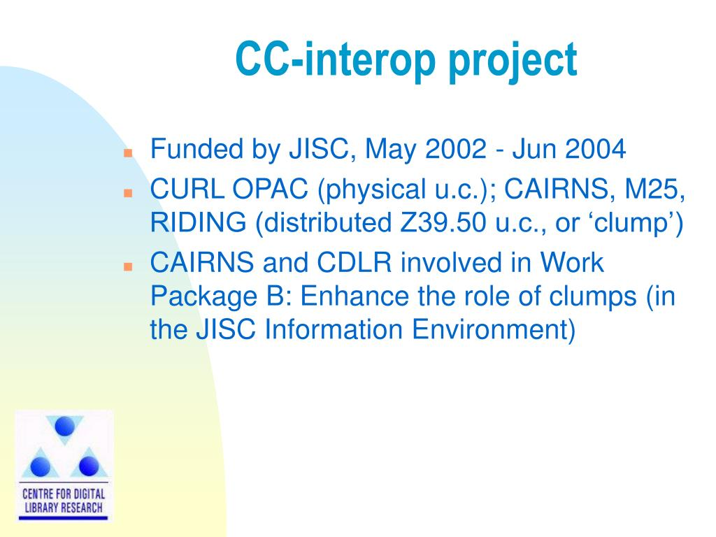CC-interop project