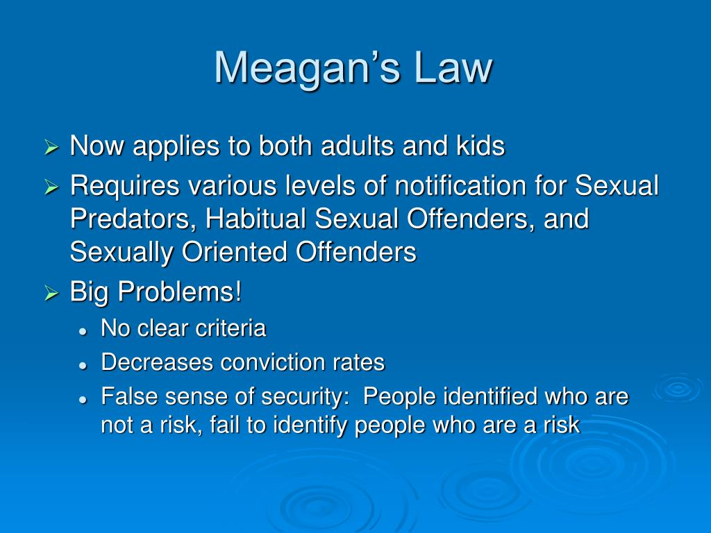 Meagan's Law