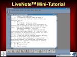livenote tm mini tutorial21