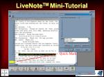 livenote tm mini tutorial34