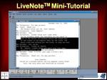 livenote tm mini tutorial43