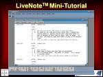livenote tm mini tutorial48