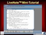 livenote tm mini tutorial53