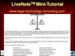 livenote tm mini tutorial67